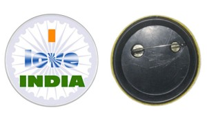 Independence Day badges printer