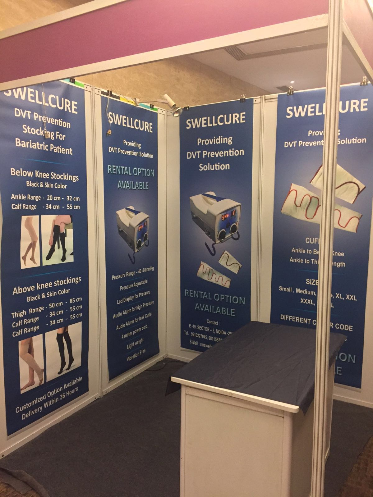 Exhibition Stall Banner : Design print solutions designing and printing