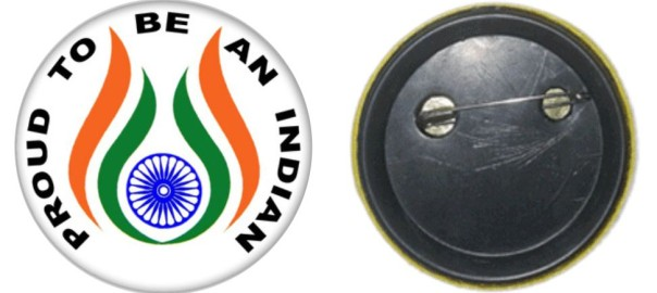 Indian Independence Day badges Printing
